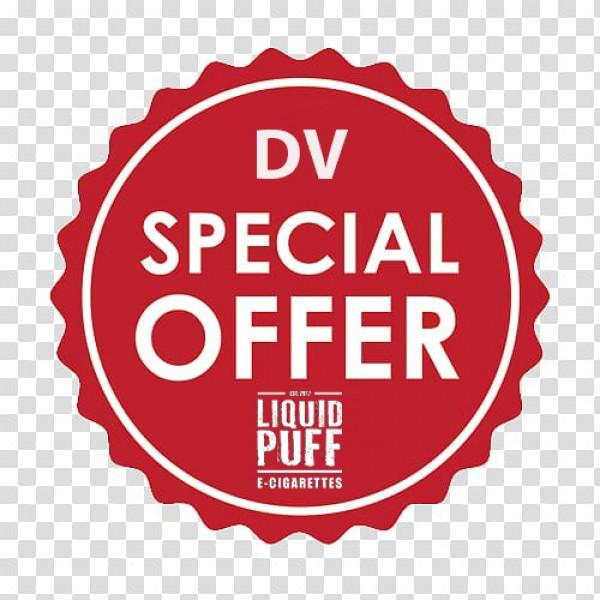 SPECIAL OFFER DV & 2 E-LIQUIDS