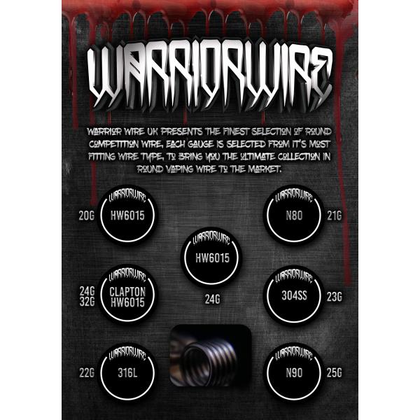 Warrior Wire 24/32 Clapton HW6015