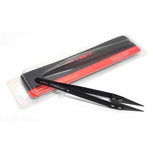 Coilmaster Ceramic Tweezer Black