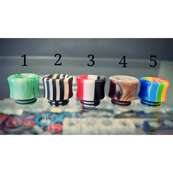 Drip Tip 810 Resin Wide Bore