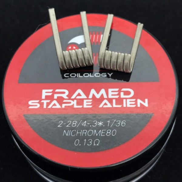 Coilology Prebuilt Coils Staple-Alien NI80