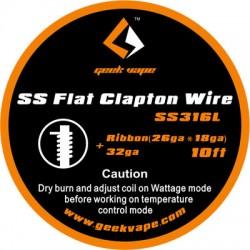Geek Vape SS Flat Fused Clapton Wire
