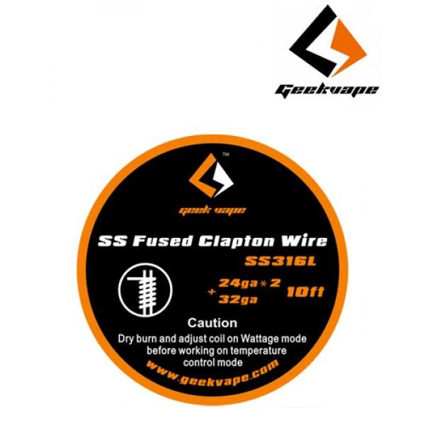 Geek Vape SS Fused Clapton Wire
