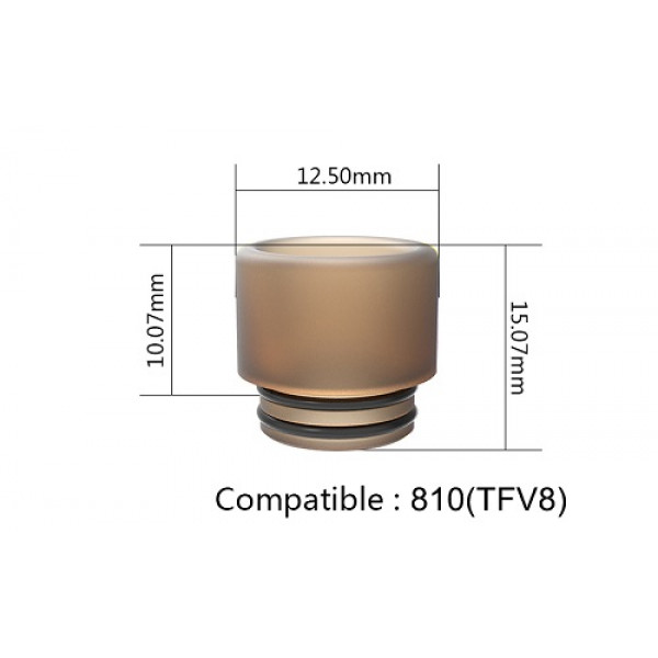 Drip tip Ultem (X) 810
