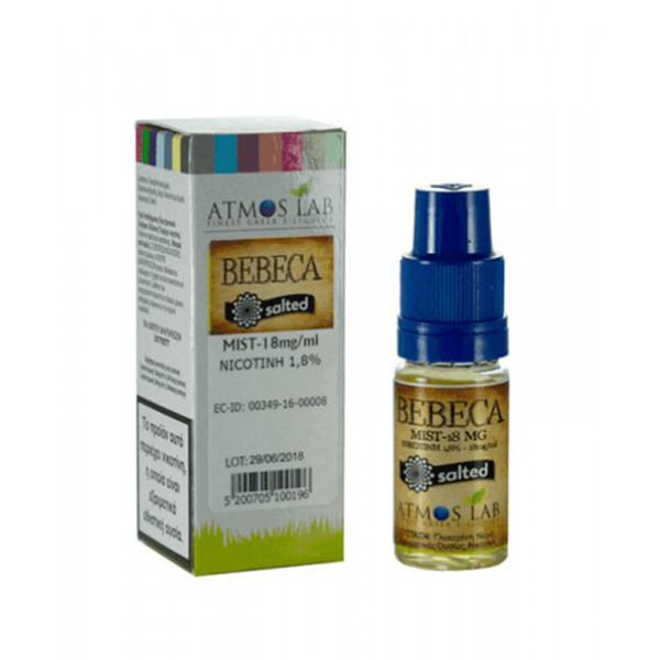 Atmosalt Bebeca 10ml 18mg by Atmos Lab