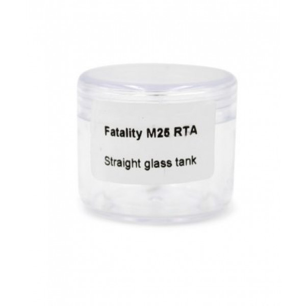 Fatality 25 Pyrex Glass 4ml straight