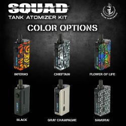 Kit Squad Tank 1300mAh by Squid Industries